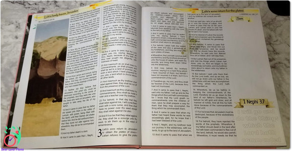 Come Follow Me Book of Mormon Scripture Journaling Stickers Week 4 1 Nephi 11 - 15