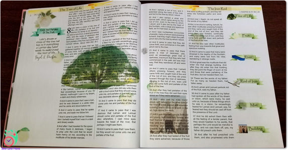 Come Follow Me Book of Mormon Scripture Journaling Stickers Week 3 1 Nephi 8 - 10