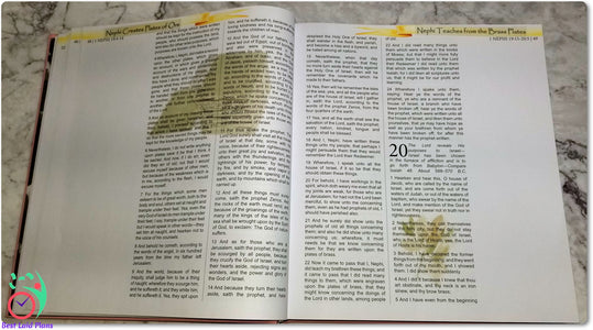 Come Follow Me Book of Mormon Scripture Journaling Stickers Week 5 1 Nephi 16 - 22
