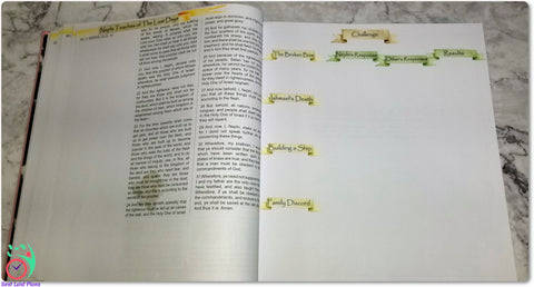 Come Follow Me Book of Mormon Scripture Journaling Stickers Week 6 2 Nephi 1 - 5