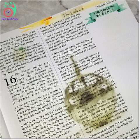Image of Come Follow Me Book of Mormon Scripture Journaling Stickers Week 5 1 Nephi 16 - 22