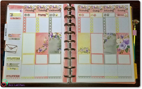 Image of Classic Happy Planner Vertical Weekly Kit Forest Wonder