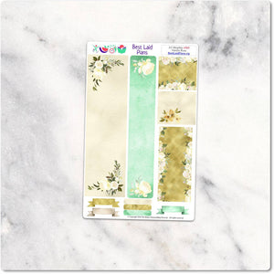 Planner Stickers Standard A5 EC Green Floral