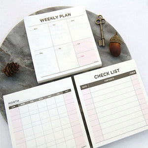 Sticky Note Checklists