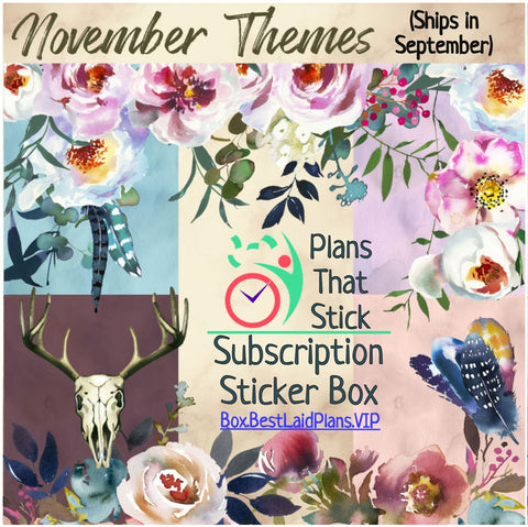 Image of Plans That Stick - Functional Planner Sticker Box