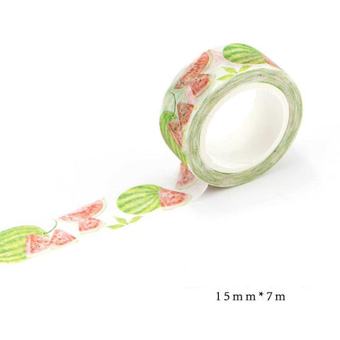 Floral Washi Tape 15mm