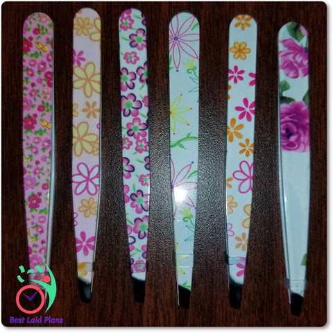 Image of Enameled Sticker Tweezers
