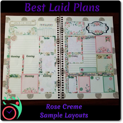 Image of Happy Planner Classic Vertical Weekly Kit Sunday Morning