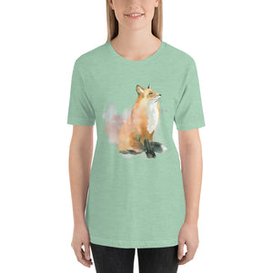 Winter Dream Fox Cotton Shirt