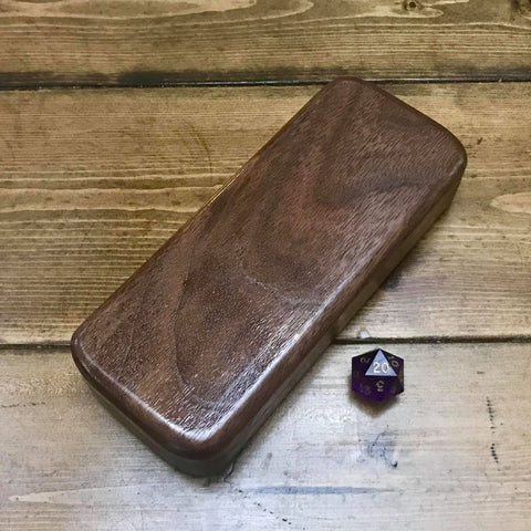 Walnut XL Dice Sleeve