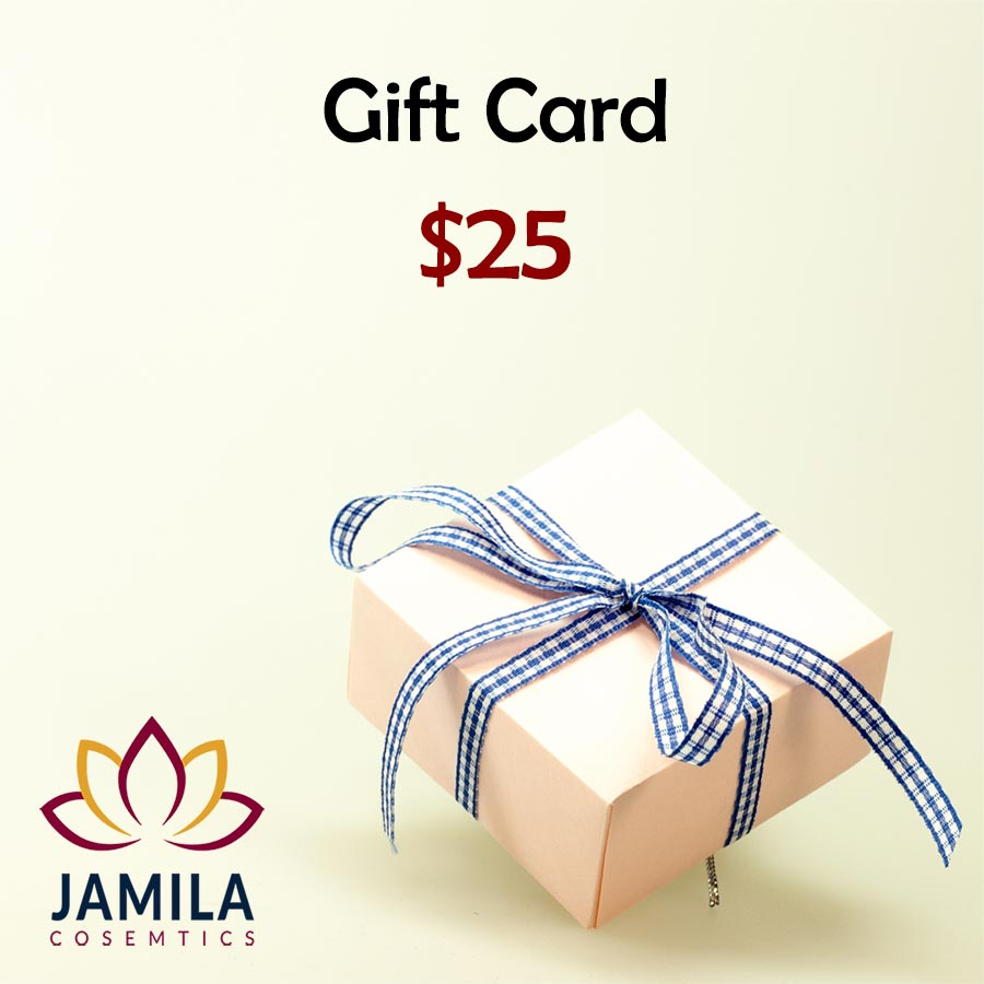 $25 Gift Card by Jamila Cosmetics