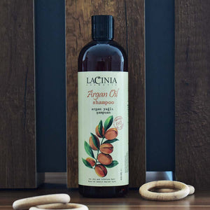 Artistic View of Argan Oil Shampoo for Dry Hair by Lacinia Cosmetics