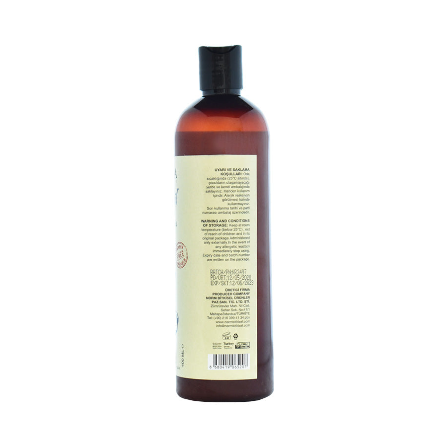 Rear View of Lacinia Horsetail Extract Shampoo for All Hair Types