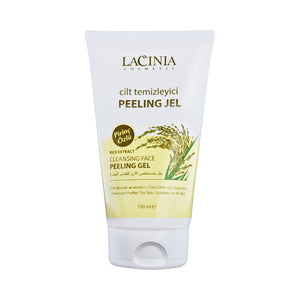 Front view of Rice Extract Face Peeling Gel for normal dry, sensitive, and oily skin by Lacinia cosmetics