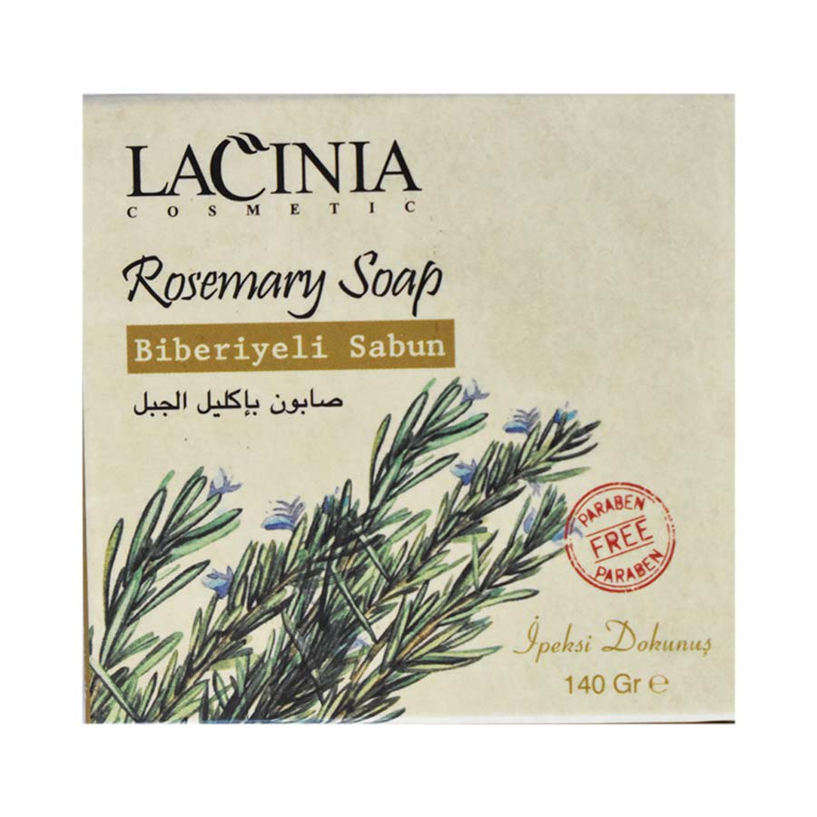 Top View of Rosemary Soap by Lacinia Cosmetics