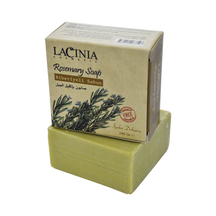 Full View of Rosemary Soap by Lacinia Cosmetics