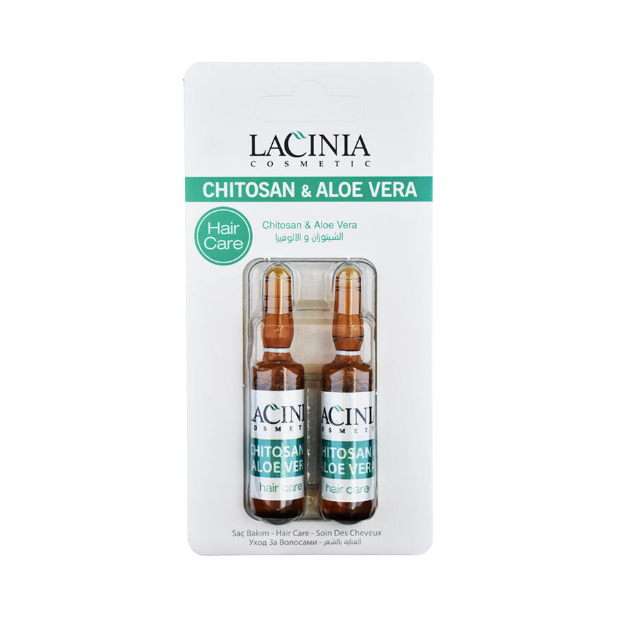 Front view of Chitosan and Aloe vera hair serum by Lacinia