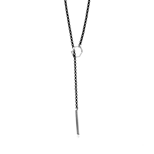Hexagon Lariat