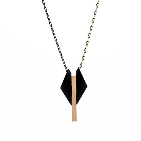 Black Winged Necklace