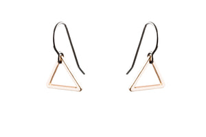 Rose Gold Triangle