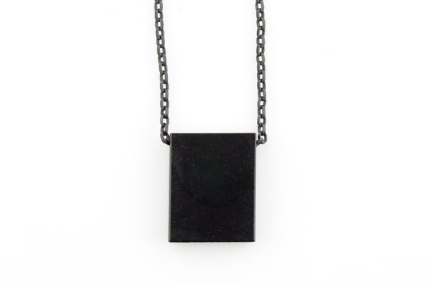 Flat Cubed Necklace