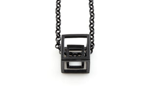 Double Cube Necklace