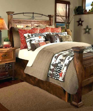 Nice To Look At Cabin Style Bedding