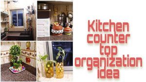 HI friends, In this video I am sharing Indian Kitchen Counter Top Organization Idea 2019