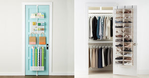 Clean Up Extra Clutter With These 17 Genius Over-the-Door Storage Solutions