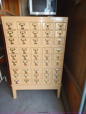Special Concept Library Card Cabinet