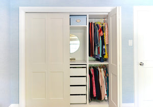 Kids Closet Organization Using IKEA PAX