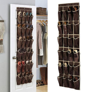 24 Pocket Shoe Door Organizer