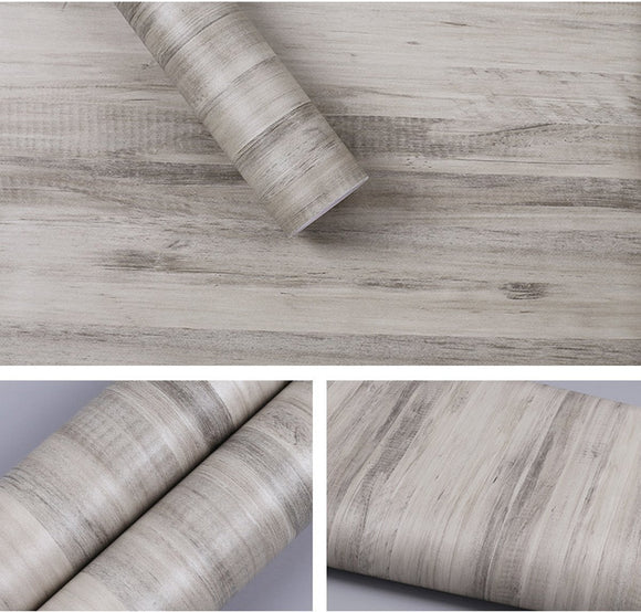 Home self adhesive retro wood contact paper for kitchen cabinets shelves drawer cupboards table desk arts and crafts decal 24x78 6 inches