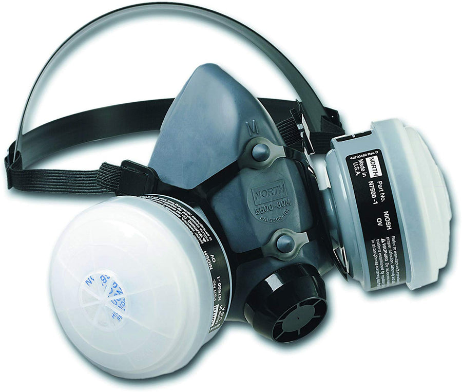 Honeywell Paint Spray & Pesticide Reusable Half Mask OV/R95 Respirator Convenience Pack (RWS-54028)