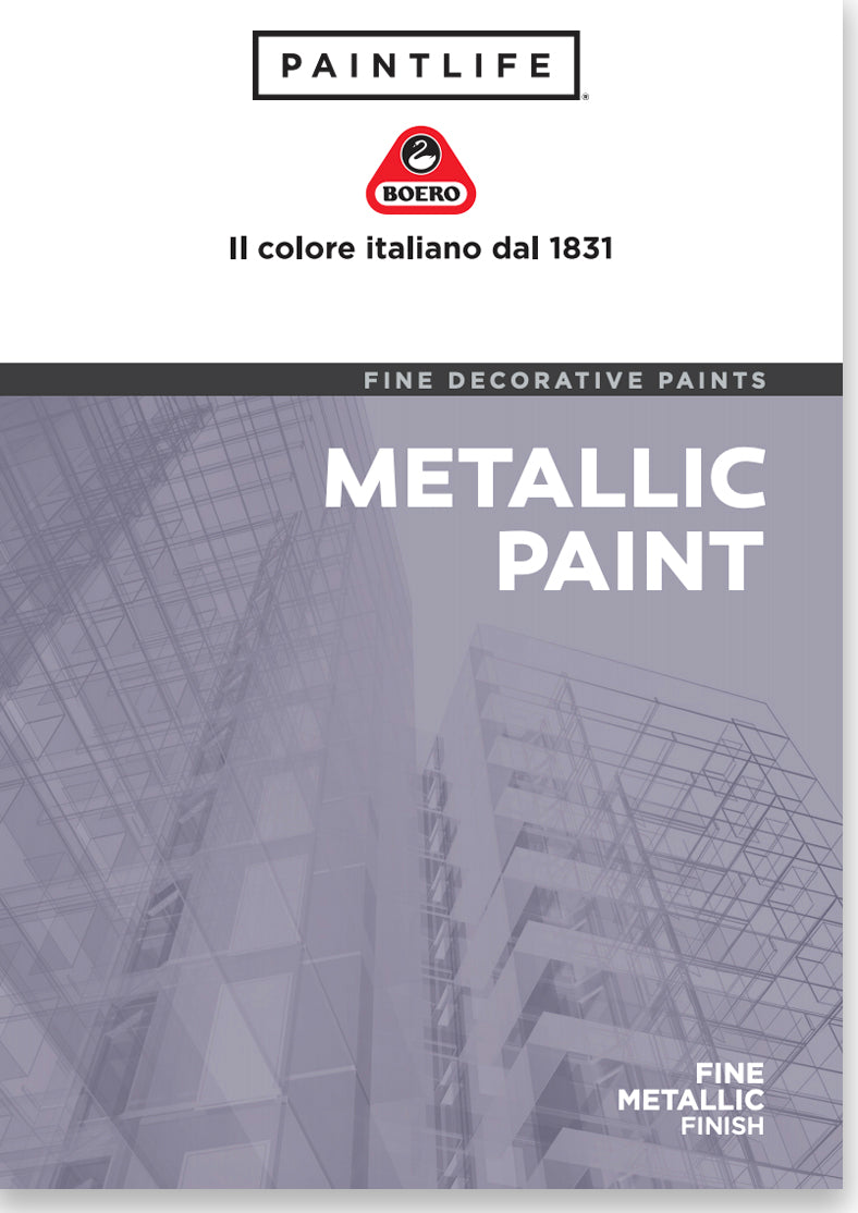 PaintLife's Boero Free Brochure for Metallic Paint