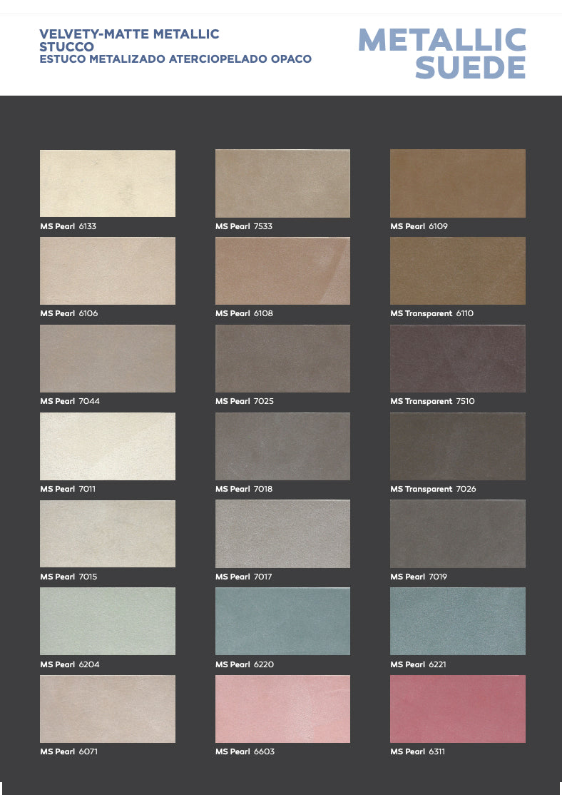 PaintLife's Boero Free Brochure for Metallic Suede