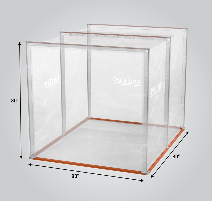 PaintLine Portable Jobsite Spray Booth (PJSB)