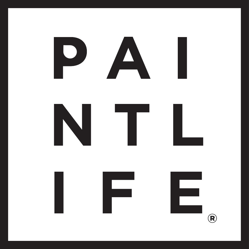 PaintLife Square Logo Sticker