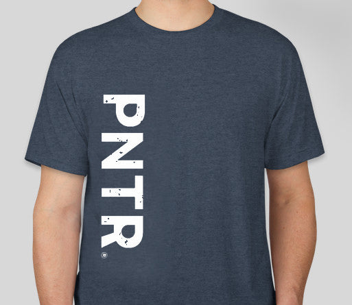 Indigo Blue PNTR Tee - Next Level Tri Blend
