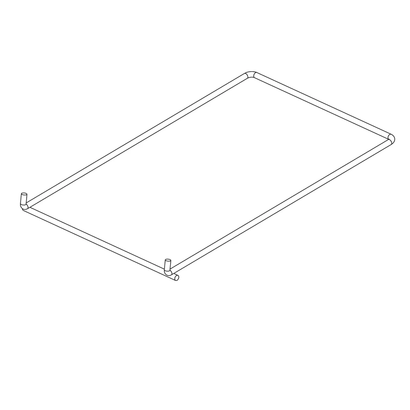 PaintLine RR3KD Replacement Shelves (Set of 17)
