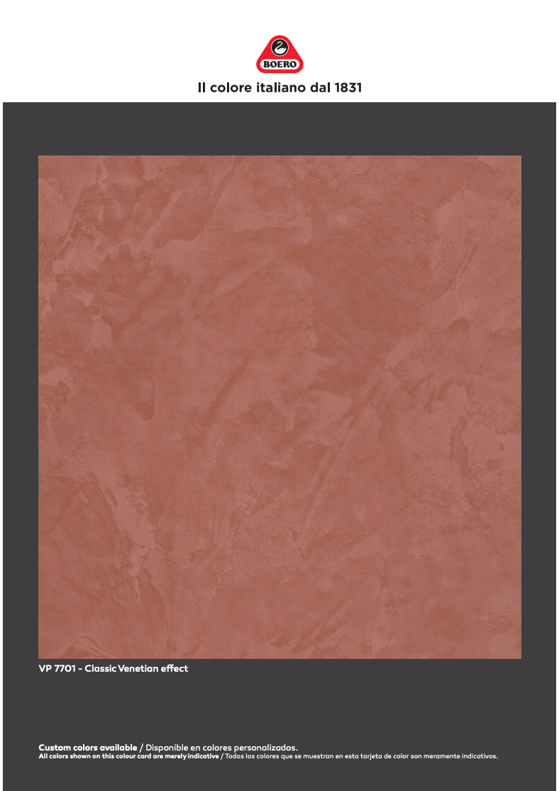 PaintLife's Boero Free Brochure for Venetian Plaster Paint