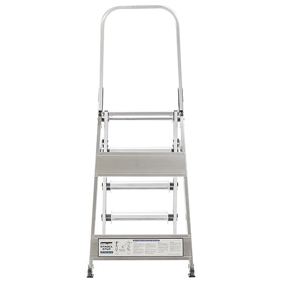 Xtend+Climb Professional Series Folding Step Ladder with Handrail 4 Step