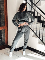 AMY PANTS - Dark Grey