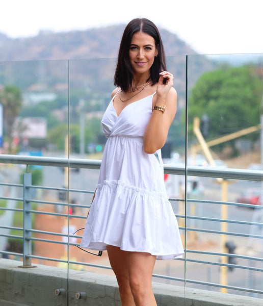 LILLY DRESS -White
