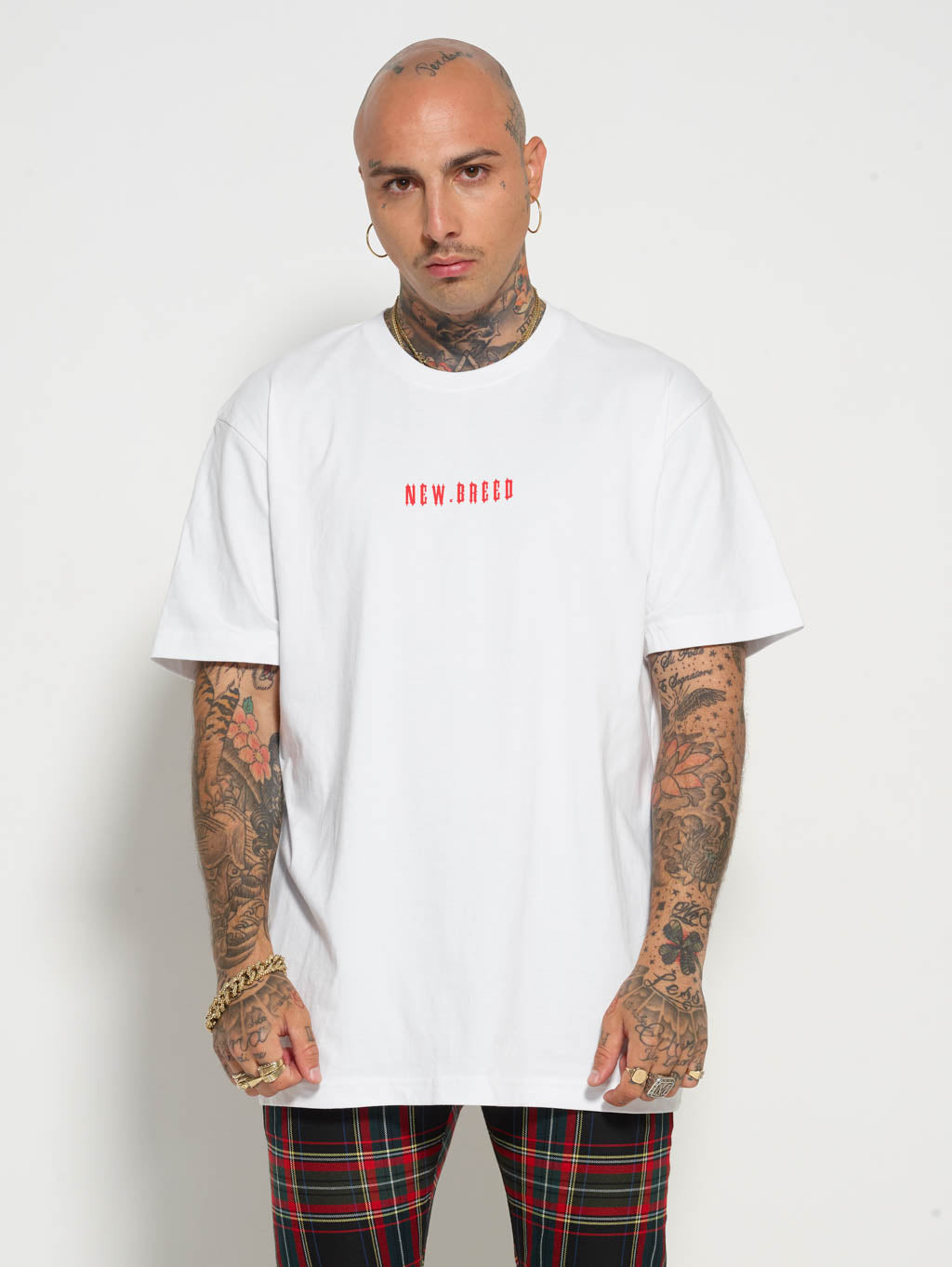 White Red N Tee