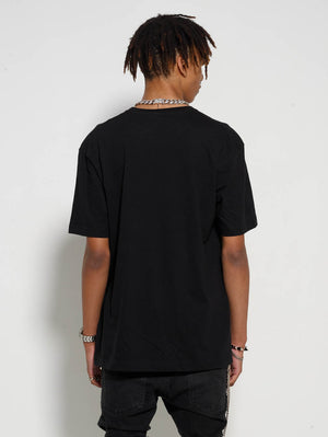 Black Dog Front Tee