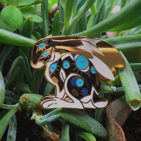Winter Hare Pin