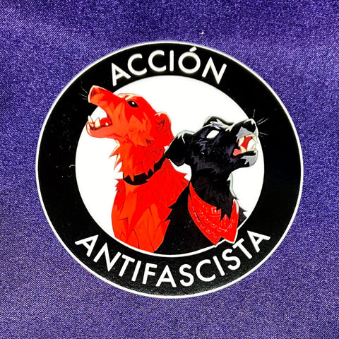 Acción Antifascista Sticker