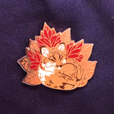Autumn Fox Pin