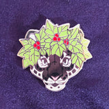 Snow Leopard Pin